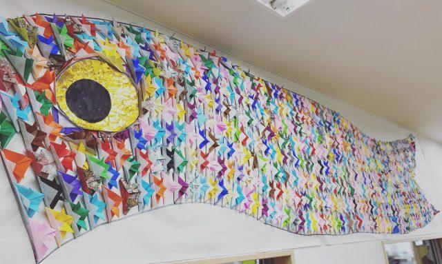 ・ ・ こいのぼり ・ ・ かぶとも たっくさん♡ ・ ・ #デイサービスやまのくち #トータルケアサービス #壁面作品